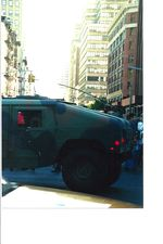 Sept 12, 2001 army truck