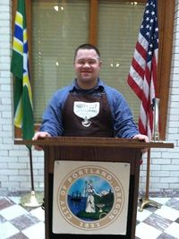 Nick at City Hall_Happy Cup