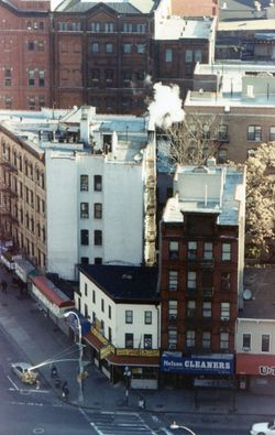 Harlem corner from 21st floor